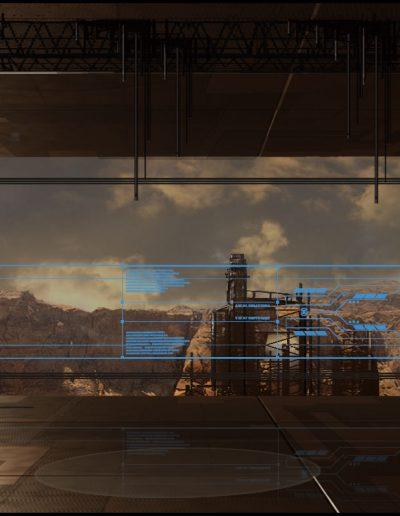 scifi-plattform - concept